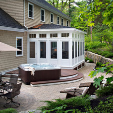 Traditional Patio by Case Design/Remodeling Halifax