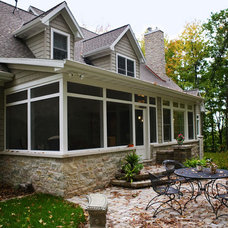 Traditional Patio by Gryboski Builders Inc.