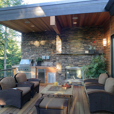 Contemporary Patio by Rick Keating Photographer, RK Productions