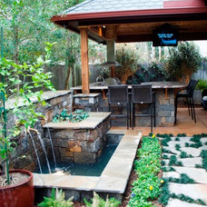Rustic Patio by Wood Crafters of Texas - Patio Covers
