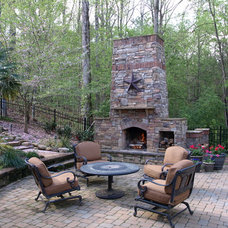 Eclectic Patio by Masters Stone Group, Inc.