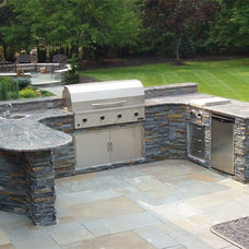 Contemporary Patio by Stonewood Products