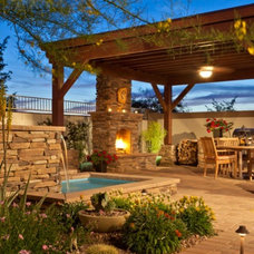 Traditional Patio by Sustain Scape