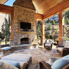 Traditional Patio by Alex Custom Homes, LLC