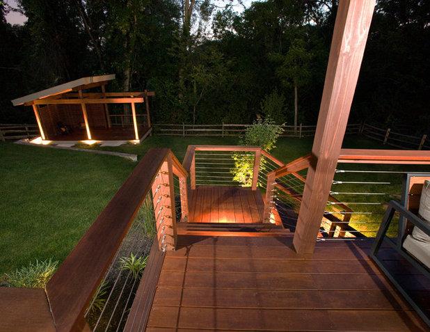Modern Patio by Ryan Duebber Architect, LLC