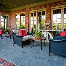 Traditional Patio by Connie Long Interiors