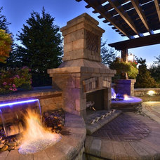 Contemporary Patio by Elemental Landscapes, Ltd.