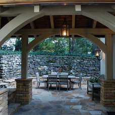 Traditional Patio by The Consulting House Inc.