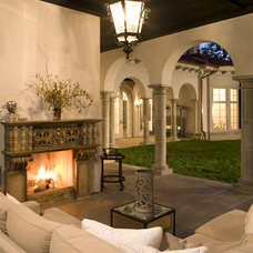 Rustic Patio by John Kraemer & Sons