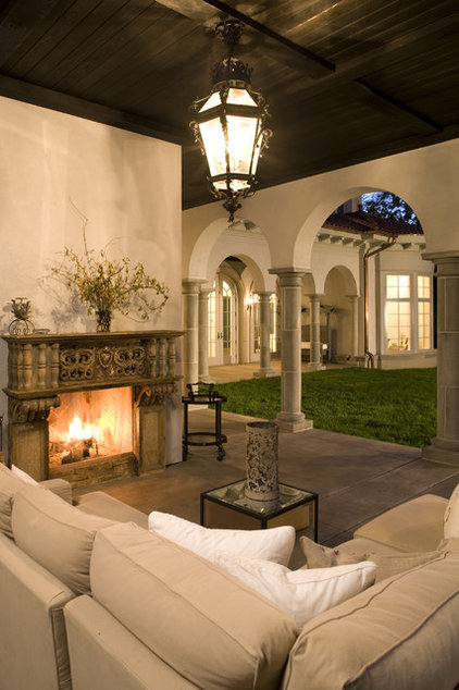 Mediterranean Patio by John Kraemer & Sons