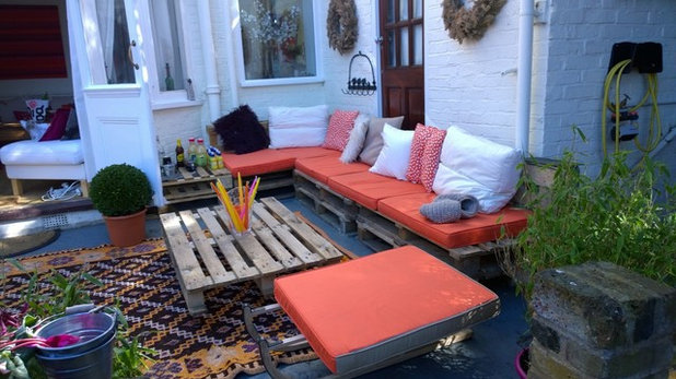 Industrial Patio by Belle & Cosy