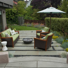 Contemporary Patio by Shades Of Green Landscape Architecture
