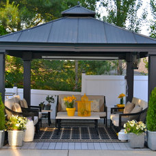 Contemporary Patio Outdoor oasis
