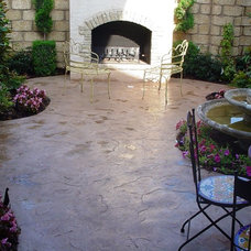 Traditional Patio by Advanced Concrete Designs, Inc