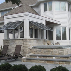 Traditional Patio by STEVE GRAY RENOVATIONS INC