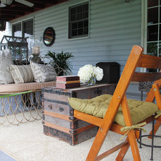 Eclectic Patio by Tendenza Fashion & Interiors