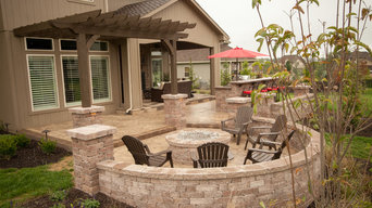Outdoor Patio and Living Room