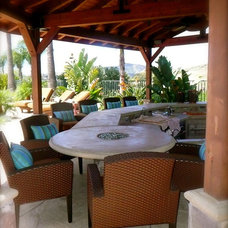 Tropical Patio by Christina Duffy Designs