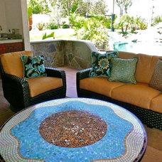 Tropical Patio by Christina Duffy Designs