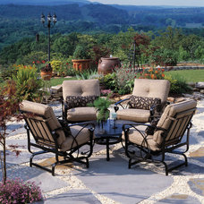 Traditional Patio by J C Swanson's Fireplace and Patio Shop