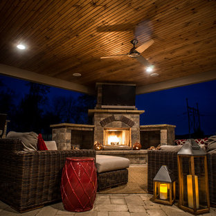 Outdoor Patio Rooms, Roofs and Pavilions