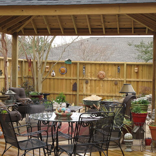 Inspiration for an eclectic patio remodel in Other