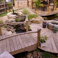 Traditional Patio by In2it Studio, LLC