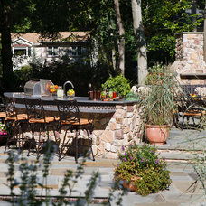 Traditional Patio by Creative Design Construction, Inc.