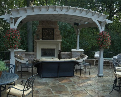 Arched Pergola Home Design Ideas Pictures Remodel And Decor