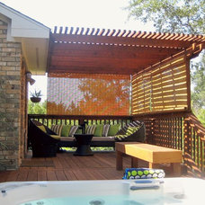 Contemporary Patio Outdoor room in Austin