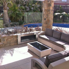 Contemporary Patio by A Better Life Outside Pty Ltd