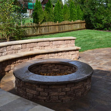 Traditional Patio by Carville Landscape Co.