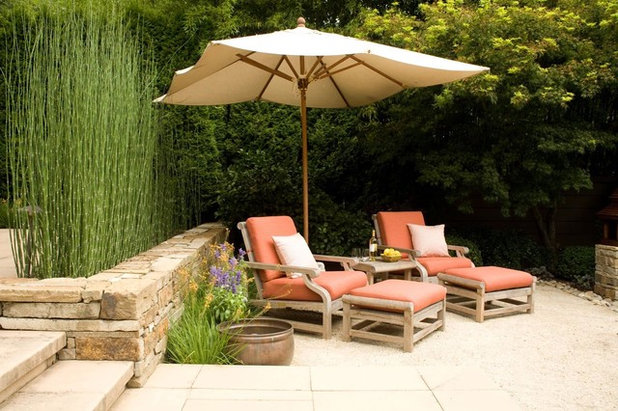 Mediterranean Courtyard by Christopher Hoover - Environmental Design Services