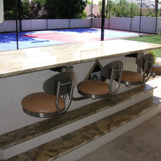 Traditional Patio by Seating Innovations