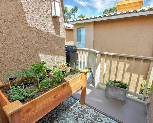 Photos et idées déco de jardins potagers de balcon et terrasse ...