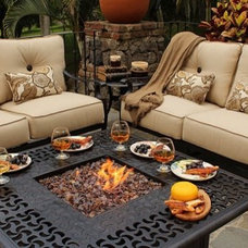 Traditional Patio by Home Escapes
