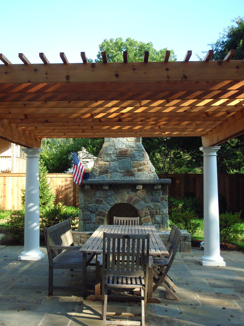 Custom Outdoor Fireplace Ideas Remodel and Decor