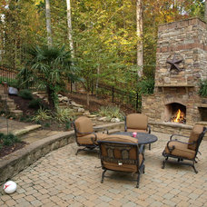 Traditional Patio by Masters Stone Group, Inc.
