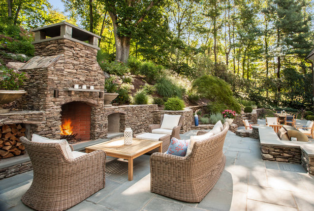 American Traditional Patio by Elise Landscapes & Nursery, LLC