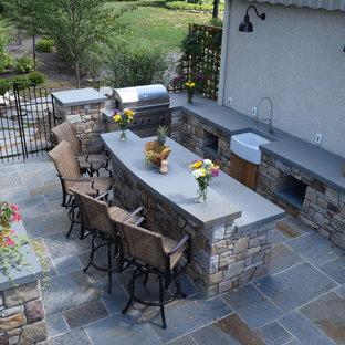 Houzz 50 Best Concrete Paver Patio Pictures Concrete