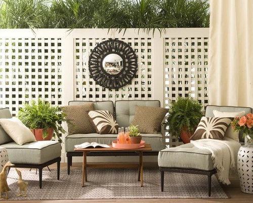 Lattice panels home design ideas pictures remodel and decor for Decorating outdoor lattice
