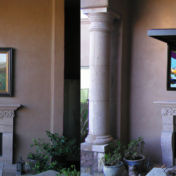 Outdoor TV with TVCOVERUPS!