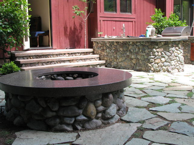 Traditional Patio by Bohemian Stoneworks