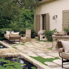 contemporary patio by CHRISTINA MARRACCINI Inc.