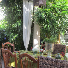 tropical patio Outside