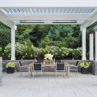 999 Beautiful White Patio With A Pergola Pictures Ideas October 2020 Houzz