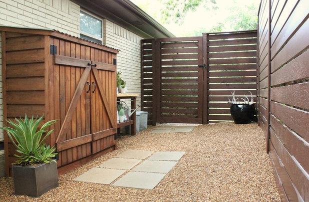 8 rangements malins pour optimiser la terrasse - Rangement pour terrasse ...