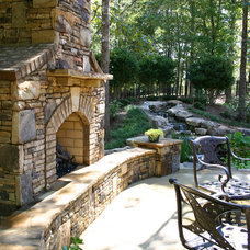 Traditional Patio by Outside Landscape Group