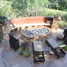 Traditional Patio by Unique Landscapes and Gardens, Inc.