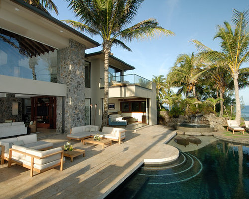 Contemporary Home Design, Photos & Decor Ideas in Hawaii